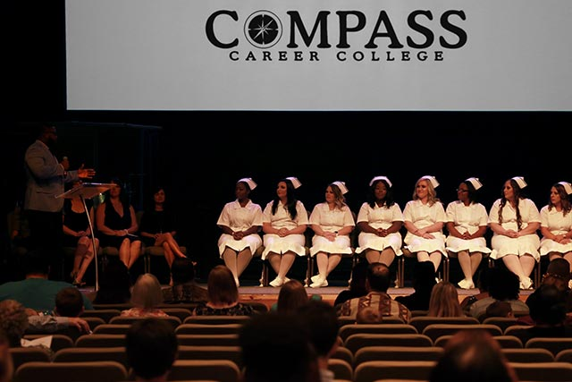Compass Career Practical Nurse Graduation