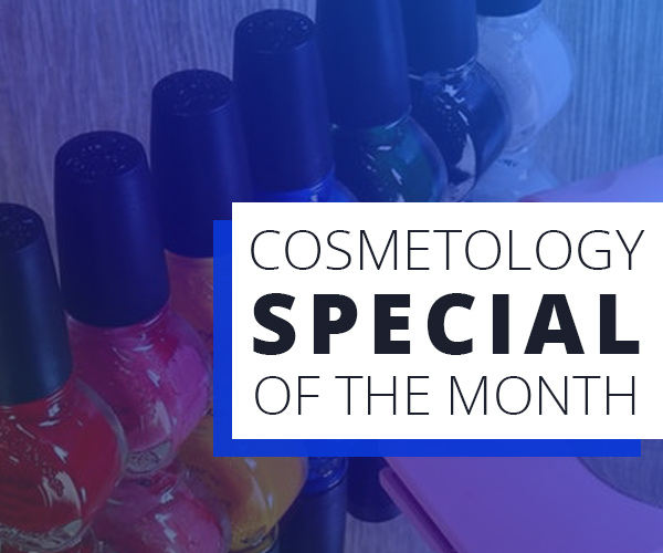 August cosmetology special graphic - nail polish